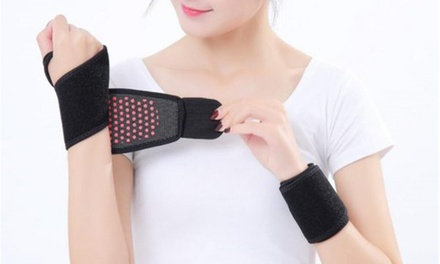 One or Two Arthritis Self-Heating Therapy Wrist Support Wraps