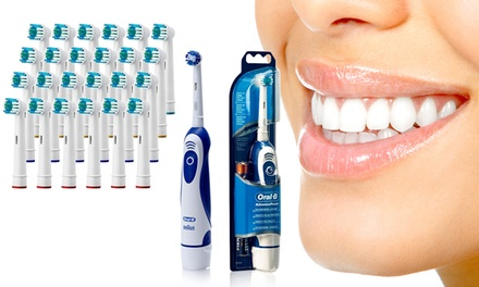 Oral-B Electric Toothbrush and Replacement Head Bundle