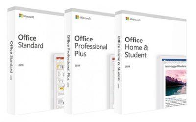 """Microsoft Office 2019 für Windows 10: """"Standard"""", """"Professional"""" oder """"Home & Student"""" von Lizenzworld"""