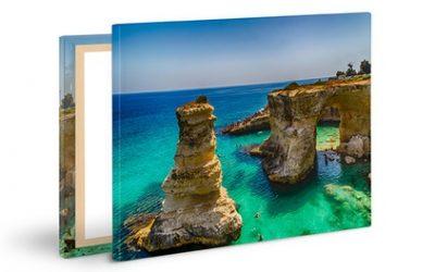Stampa su tela disponibile in 10 formati offerta da StampaFoto48ore.it (sconto fino a 93%)