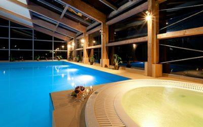 10 km do Kołobrzegu: pokój standard dla 2 osób lub rodziny z wyżywieniem HB w Magnat Resort & Spa