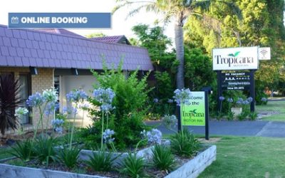 Phillip Island: 1-3 Nights for Two or Four People with Breakky at Tropicana Motor Inn