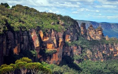 Blue Mountains: 1 or 2 Nights for 2 People with Wine, Parking and Late Check-Out at Katoomba Town Centre Motel