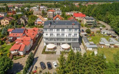 Grzybowo k. Kołobrzegu: pokój standard lub komfort dla 2 osób ze śniadaniami lub wyżywieniem HB w Welle Resort
