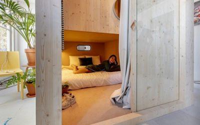 Maastricht: Schlafkabine für Zwei mit Wellness- und Hamam, opt. mit Frühstück, in den The Green Elephant Hostels