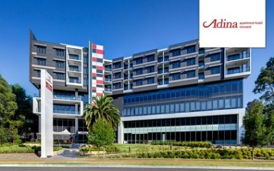Baulkham Hills, Sydney: 1 or 2 Nights for 2 People with Wine, Wi-Fi and Late Check-Out at Adina Apartment Hotel Norwest
