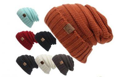 Women's Warm Knitted Beanie Hat