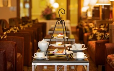 Afternoon Tea with Cocktail for Two or Four at Hamlet Court Hotel (28% Off)