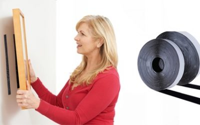 One, Two or Four Rolls of 5m Hook and Loop Heavy-Duty Tape