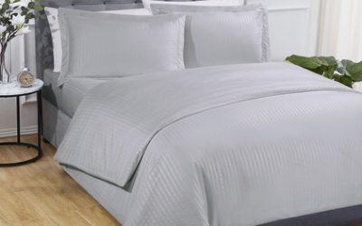 Hotel Stripe Complete Bedroom Set