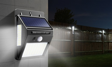 One, Two or Four Solar-Powered Motion Sensor LED Lights