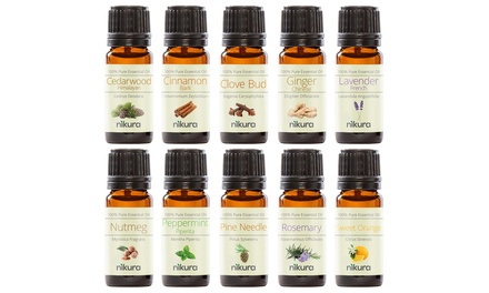 Christmas Essential Oil Gift Set