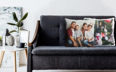 Classic or Premium Personalised Photo Cushion from Photo Gifts