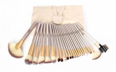 LaRoc 24-Piece Champagne Makeup Brush Set