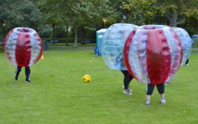 2, 4 of 8 uur Bubbelvoetballen met 8 personen inclusief materiaal en bezorging