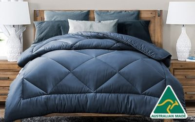From $32 for an Australian-Made All Season Soft Bamboo Blend 400GSM Quilt (Don't Pay up to $269)