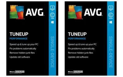 Logiciel AVG PC TuneUp 2021 pour 3 PC pendant 1 ou 2 ans