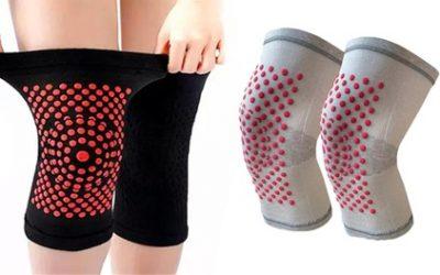 Self-Heating Knee Pads: One Pair ($14) or Two Pairs ($19)