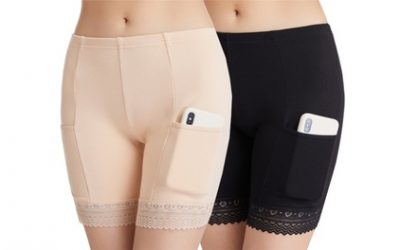 Women's Anti-Chafing Shorts with Pockets
