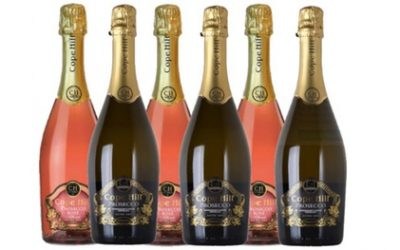 50% Off Three Bottles Cope Hill Prosecco and Pink Prosecco from Paris Rose, Free Delivery