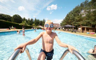 Vakantiepark Brabant: Dommeldal-Mobilehome für bis zu 4 Personen im Ferienpark Oostappen Vakantiepark Brugse Heide