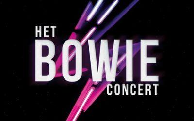 1e rangs ticket voor 'Het Bowie Concert' in Amsterdam AFAS Live, Den Bosch Mainstage of Rotterdam Ahoy