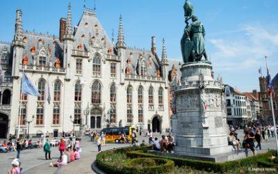 Bruges : chambre double avec petit-déjeuner et départ tardif pour 2 personnes à l'hôtel Martin's Brugge