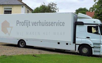 Verhuisservice van 1-8 uur incl. 2 verhuizers + verhuisbus met Profijt Verhuisservice – verhuizingen door heel Nederland