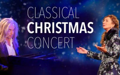 Concert-ticket voor Classical Christmas met pianist Jan Vayne op 11 locaties in Nederland + gratis cadeaupakket