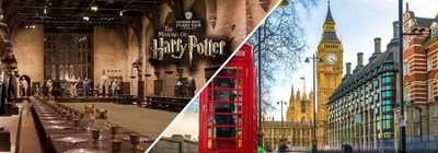 ✈ ROYAUME-UNI | Londres – Holiday Inn Express Chingford – North Circular avec Harry Potter 3* – Entrée Harry Potter incluse