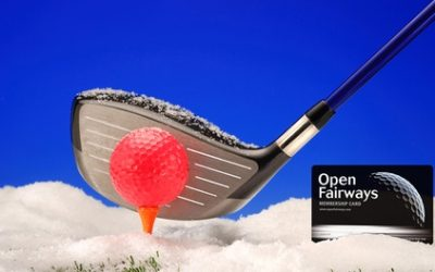 Up to 18-Month Golf Privilege Card from Open Fairways (Up to 77% Off)