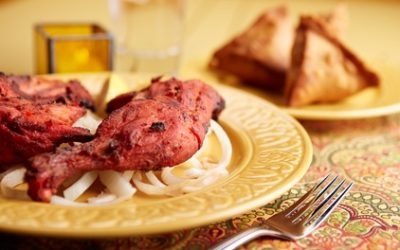 Two-Course Lunch or Weekend Buffet for Two at Shri Bheemas Indian Restaurant, Three Locations