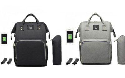 USB Diaper Bag Backpack