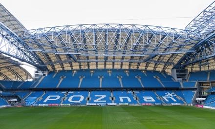 Stadion Poznań: zwiedzanie obiektu Lecha Poznań za 27,99 zł dla 2 osób i więcej opcji (do -36%)